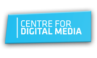 Centre for Digital Media Logo